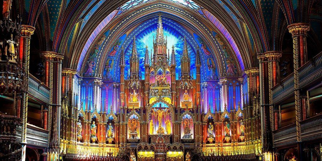 notre dame katedrali içi